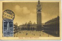 Carte-maximum Italie - N°94 - Campanile de Venise