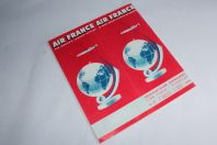 Air France Time Table n°4 1958